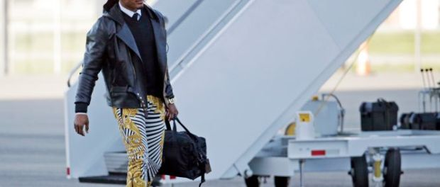 Cam Newton - Super Bowl Pants